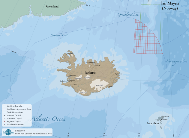 Iceland´s Exclusive Economic Zone