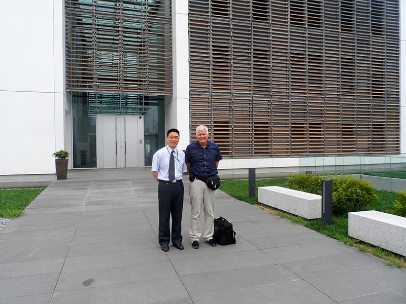 G. Ingason in China 2014