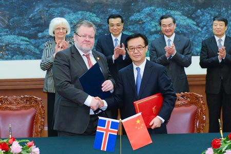 G Ingason Seafood Free Trade Agreement Iceland China Archives