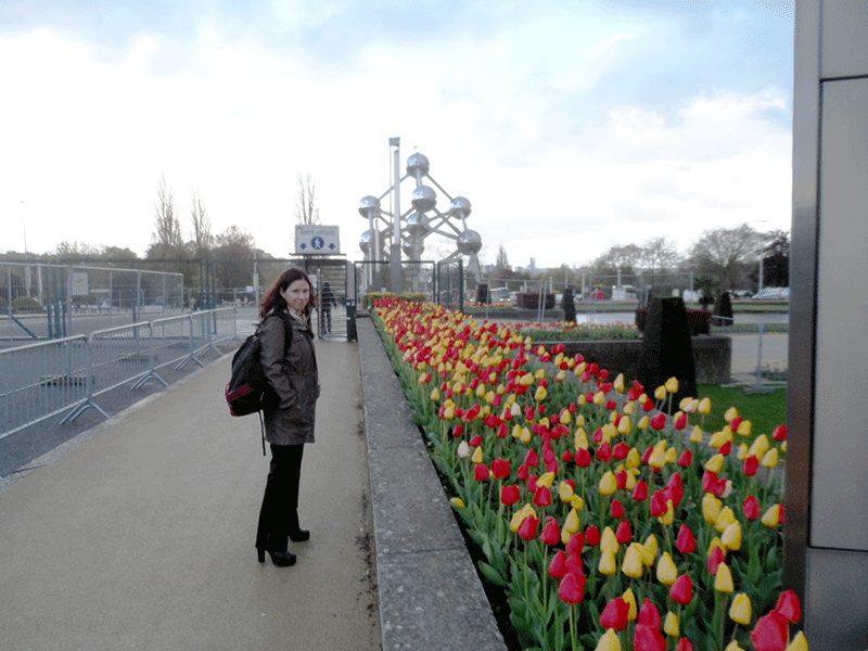 Vera-amongst-the-Tulips