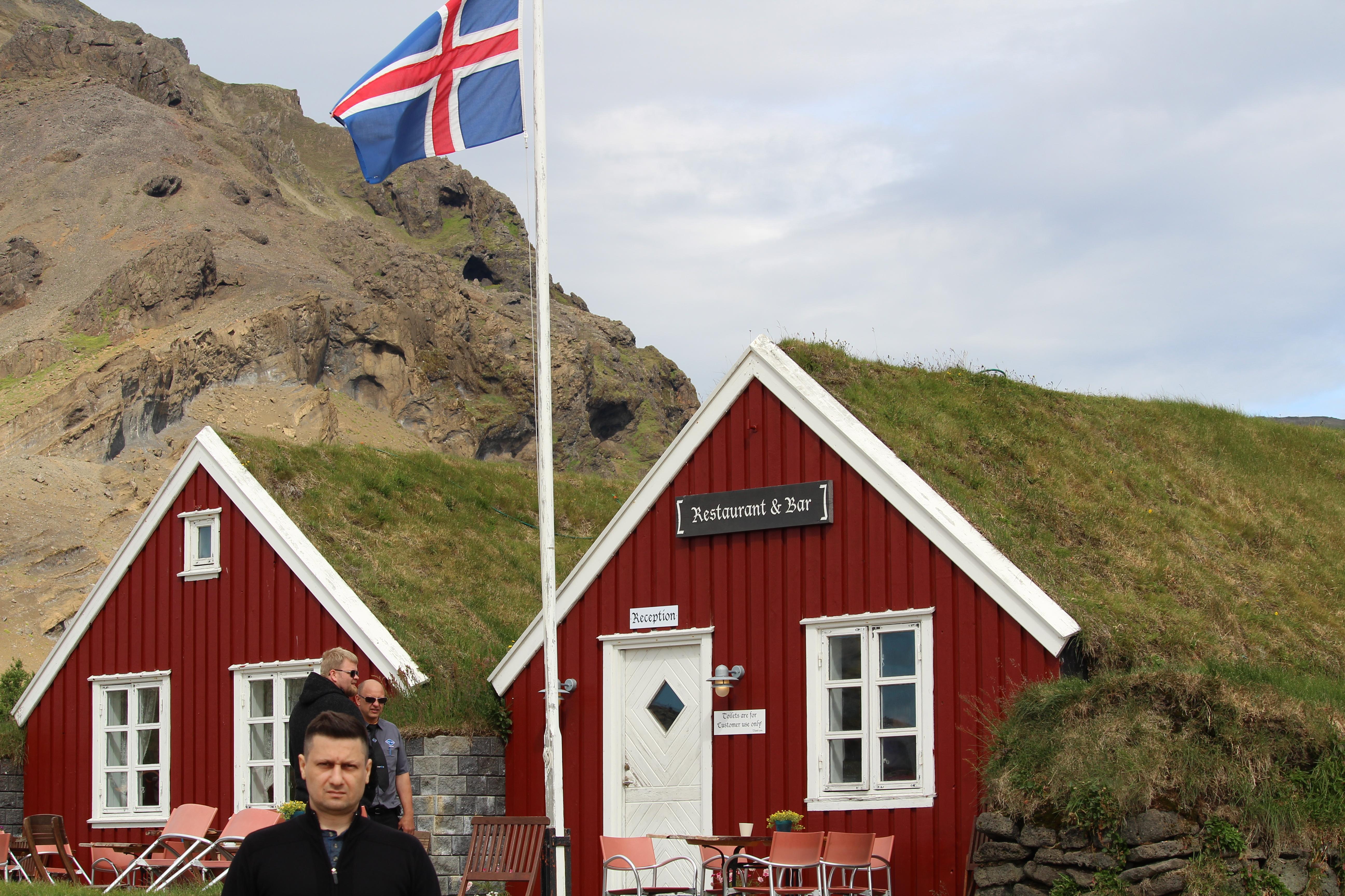 Restaurant at  Arnarstapi Snæfellsnes Iceland