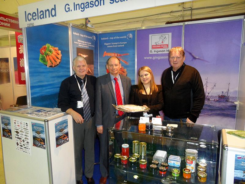 G. Ingason Seafood Stand