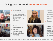 G. Ingason Seafood Representatives China conference 2014