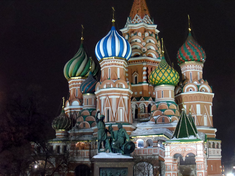 The Cathedral of Intercession of Theotokos (St. Basil's)
