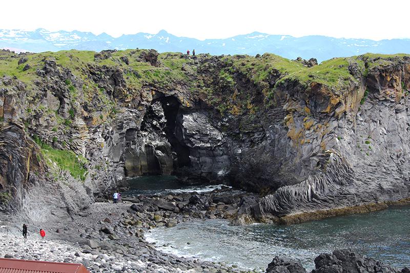 The beach at Hellnar Snæfellsnes Iceland