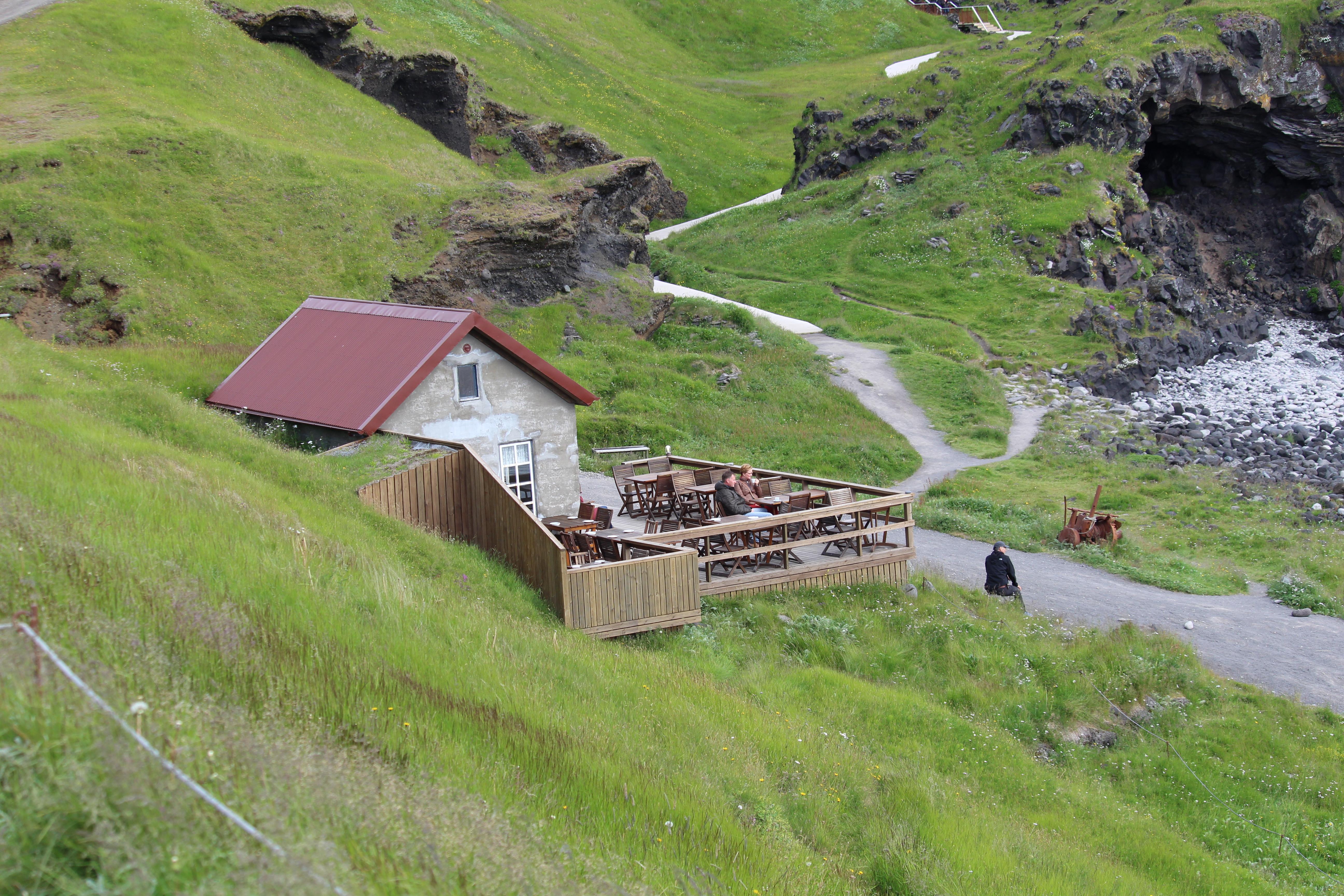 Fjöruhúsið Café at Hellnar Snæfellsnes