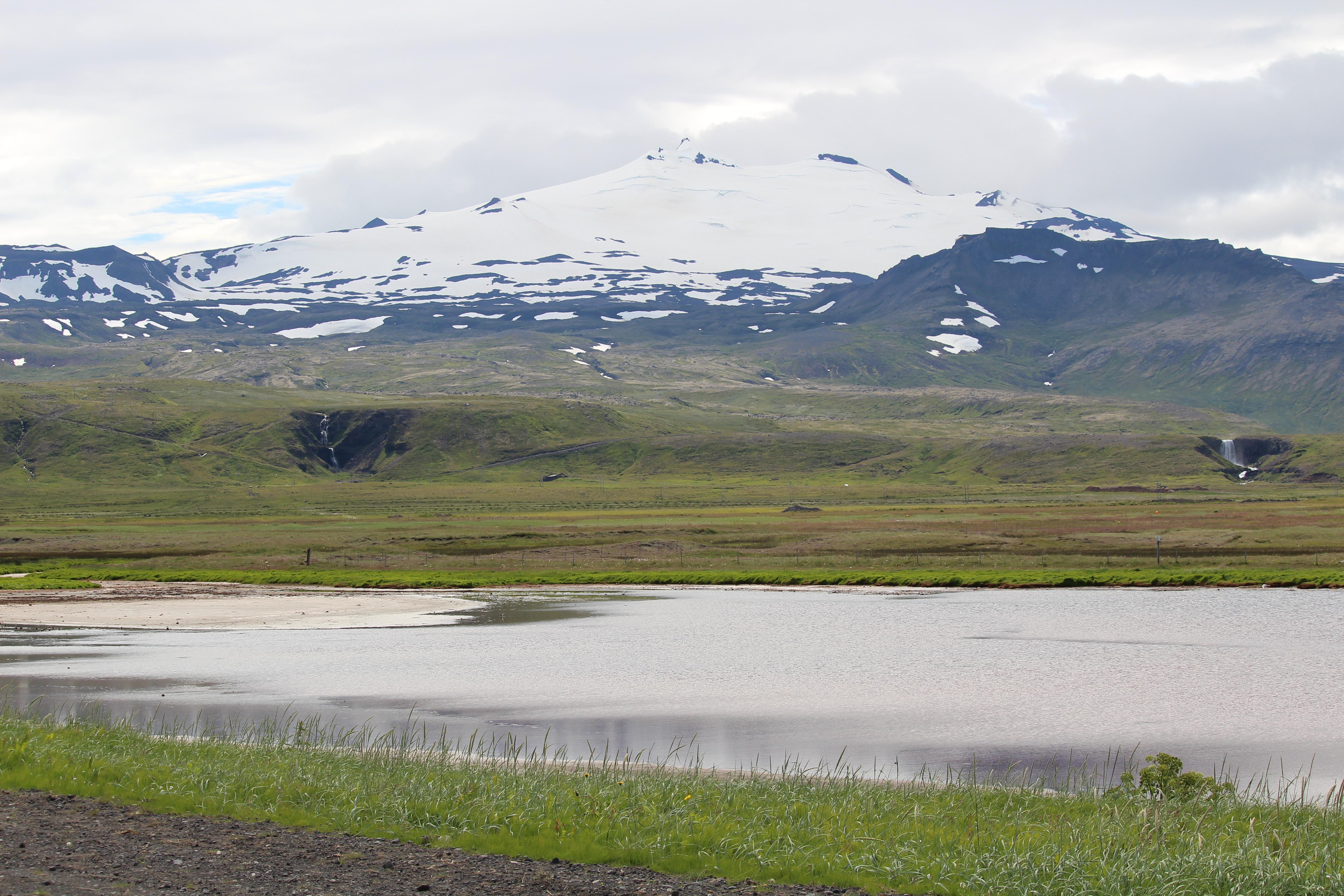 Snæfellsjökull at Snæfellsnes Iceland